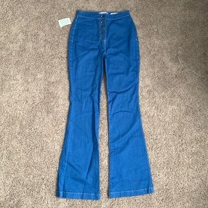 NEW Blue Bell Bottom Jeans American Apparel